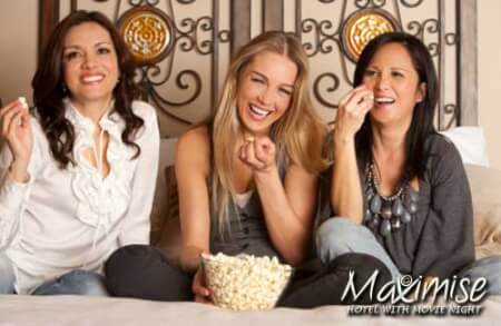 3 Star Hotel with Movie Night for my Nottingham(Maximise) Hen Party | Maximise Hen Weekends
