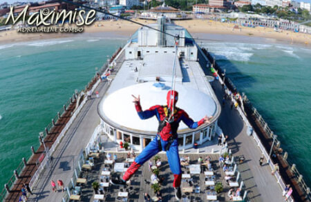 Adrenaline Combo Bournemouth for your maximise stag party