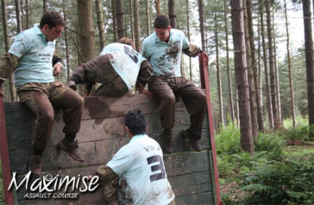Assault Course Bournemouth for your maximise hen party