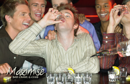 Bar Crawl & Club Combo For your Maximise Stag Party