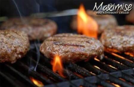 BBQ Riverboat Cruise in York for your hen party with hen maximise