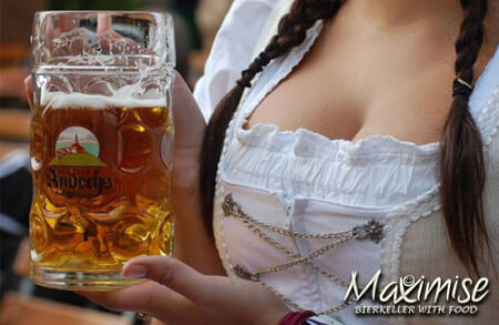 Bierkeller Gold Package for my Nottingham(Maximise) Stag Do | Maximise Stag Weekends
