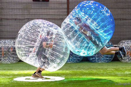 Indoor Bubble Football for my Frankfurt Stag Do | Maximise Stag Weekends