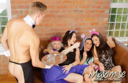 Butler In The Buff! in  York for your hen party with hen maximise