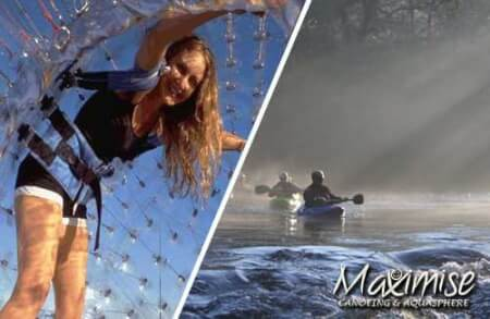 Canoeing & Aquasphere for my Galway(Maximise) Hen Party | Maximise Hen Weekends