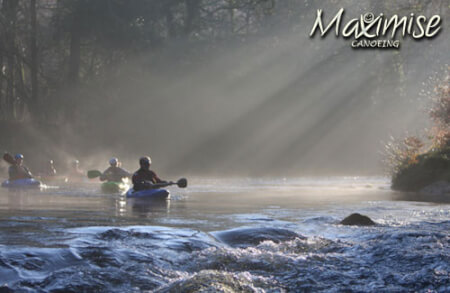 Canoeing for your maximise stag party
