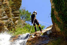 Canyoning pour mon EVG à Valence