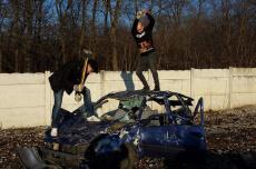 Car smash  pour mon EVG à Val de Loire | Enterrement de vie de garçon | idée enterrement de vie de garçon | activité enterrement de vie de garçon | idée evg | activité evg