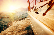 Catamaran Sunset pour mon EVG à Valence