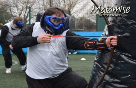 Combat Archery Liverpool for my Liverpool Stag Do | Maximise Stag Weekends