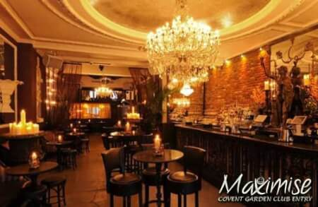 Covent Garden Night Club Entry for my London(Maximise) Hen Party | Maximise Hen Weekends