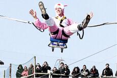 Crazy saut à l'élastique  pour mon EVG à Annecy | Enterrement de vie de garçon | idée enterrement de vie de garçon | activité enterrement de vie de garçon | idée evg | activité evg