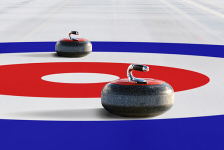 Curling  for my Tallinn Stag Do | Maximise Stag Weekends