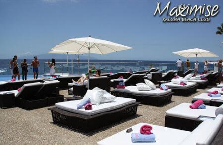 Deluxe Kaluna Beach Club Entry