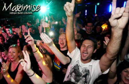 Bar Crawl for your maximise stag party