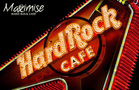 Hard Rock Cafe Meal for my Edinburgh(Maximise) Hen Party | Maximise Hen Weekends