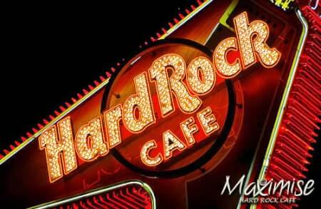 Hard Rock Cafe Meal