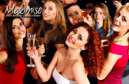 Hen Bar & Club Combo Bournemouth for your maximise hen party