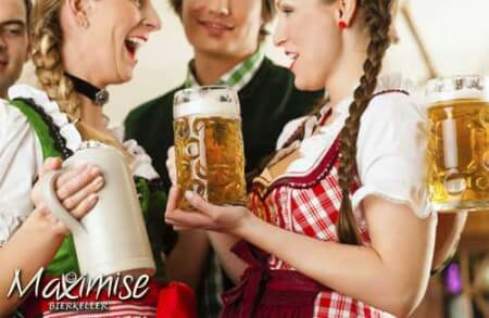 Bierkeller & Bavarian Meal for my Liverpool Hen Party | Maximise Hen Weekends