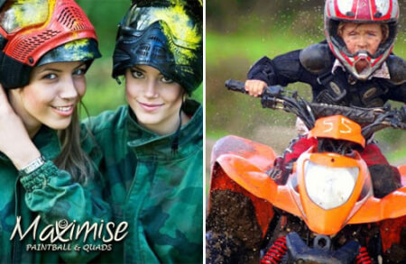 Paintball & Quads Birmingham for your maximise hen party