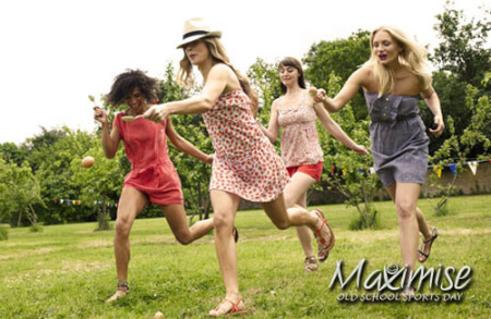 Old School Sports Day for my Edinburgh(Maximise) Hen Party | Maximise Hen Weekends