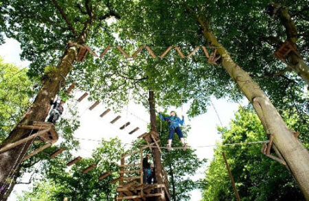 High Ropes & Powerfan Liverpool for my Liverpool Hen Party | Maximise Hen Weekends