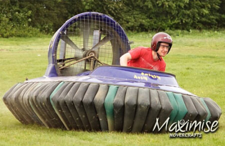 Hovercrafting Edinburgh for my Edinburgh(Maximise) Stag Do | Maximise Stag Weekends
