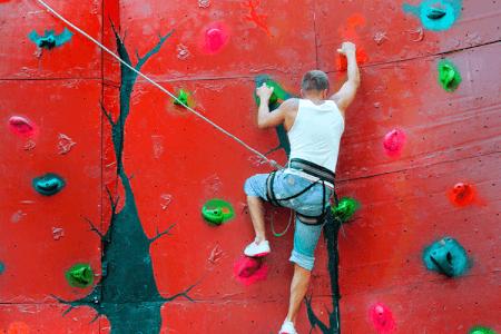 Indoor Rock Climbing for my Marbella Hen Party | Maximise Hen Weekends