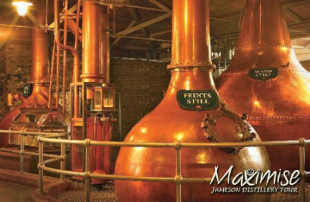 Jameson Distillery Tour for my Dublin Hen Party | Maximise Hen Weekends