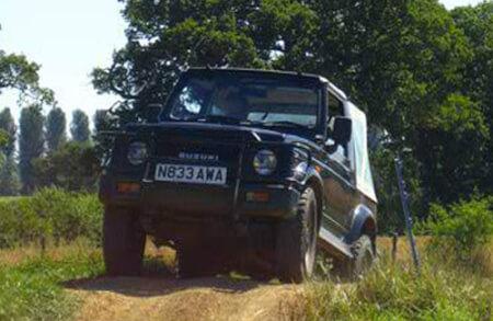 Jeep Gymkhana Stag Do Reading