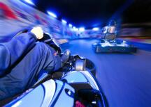 Kartfahren Indoor für meinen JGA in Vilnius | Junggesellenabschied