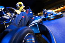 Karting Indoor für meinen JGA in Rome | Junggesellenabschied