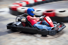 Enterrement de Vie de Garçon Tallinn Crazy-evG Karting outdoor