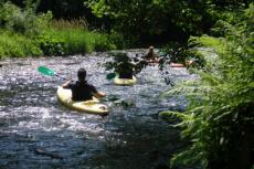Kayakfahren für meinen JGA in Poznan    Junggesellenabschied