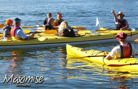 Kayaking Cardiff for your maximise stag party