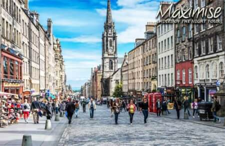 Ladies Of The Night Tour Edinburgh for my Edinburgh(Maximise) Hen Party | Maximise Hen Weekends