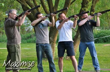 Laser Clay Pigeon Shooting Birmingham