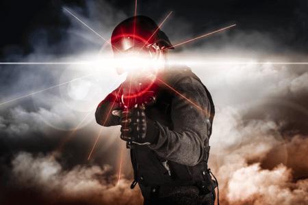 Laser game für meinen JGA in Barcelone | Junggesellenabschied