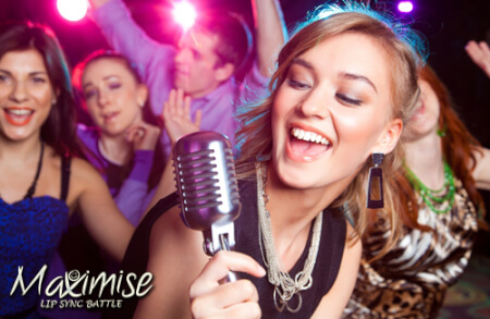 Lip Sync Battle Bournemouth for your maximise hen party