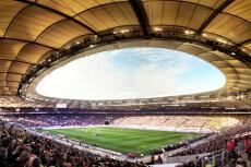 Mercedez Benz Arena Tour stag do in Stuttgart