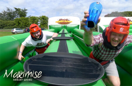 Mersey Games for my Liverpool Stag Do | Maximise Stag Weekends