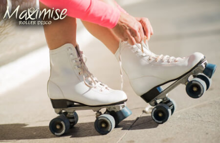 Mini Roller Disco Manchester for your hen weekend with hen Maximise