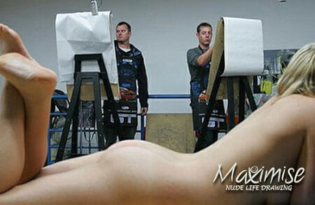 Nude Life Drawing  for my London(Maximise) Stag Do | Maximise Stag Weekends