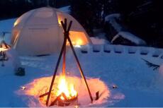 Nuit en igloo pour mon EVG à Annecy | Enterrement de vie de garçon | idée enterrement de vie de garçon | activité enterrement de vie de garçon | idée evg | activité evg