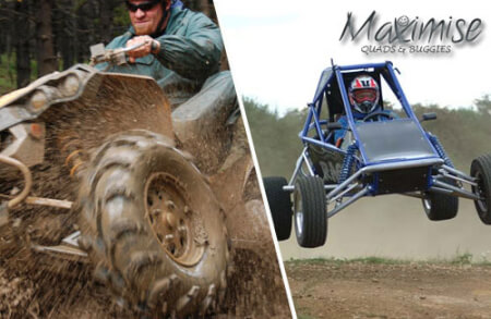 Off Road Buggies and Quads Bournemouth for your maximise stag party