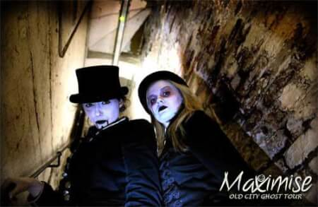 Old City Ghost Tour Liverpool for my Liverpool Hen Party | Maximise Hen Weekends