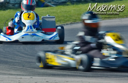 Outdoor Karting Bournemouth for your maximise stag party