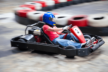 Outdoor Karting for my Birmingham Stag Do | Maximise Stag Weekends