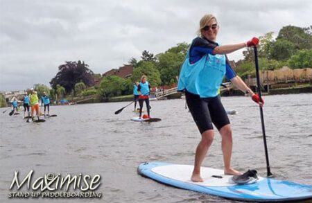 Paddleboarding for my Lisbonne Stag Do | Maximise Stag Weekends