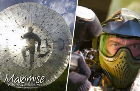 Paintball Zorbing Stag London